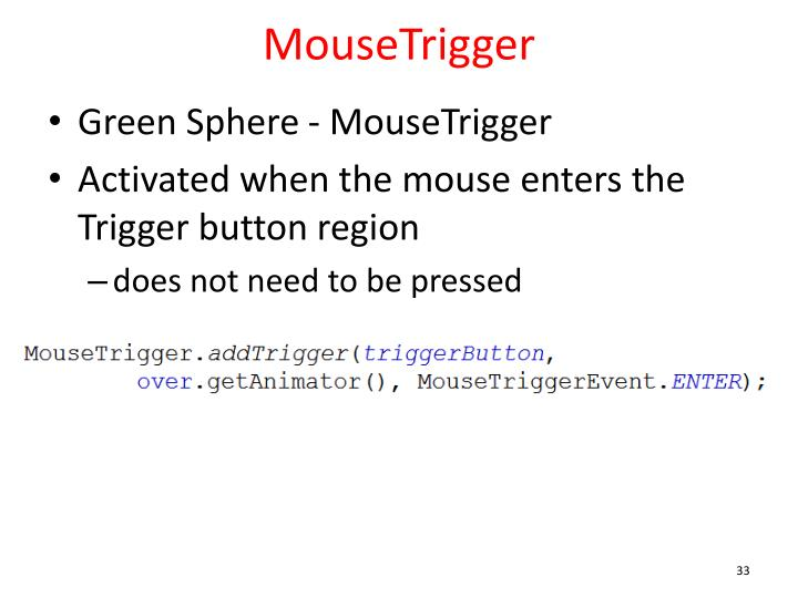 MouseTrigger