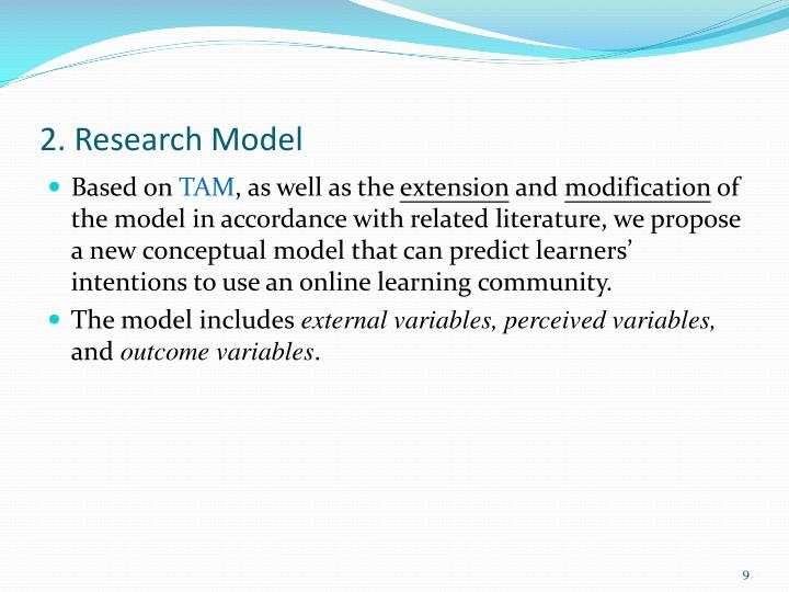 2. Research Model