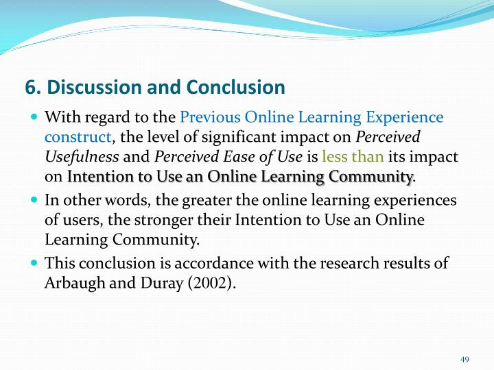 6. Discussion and Conclusion