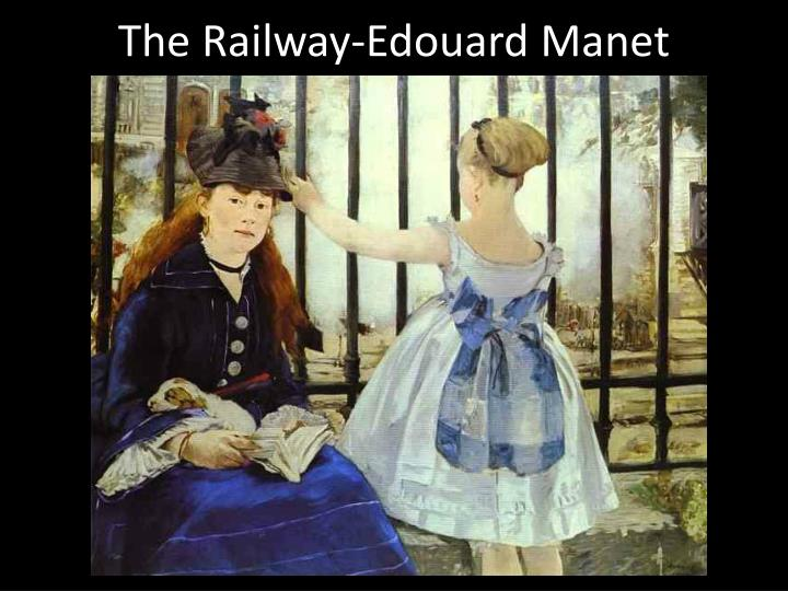 The railway edouard manet