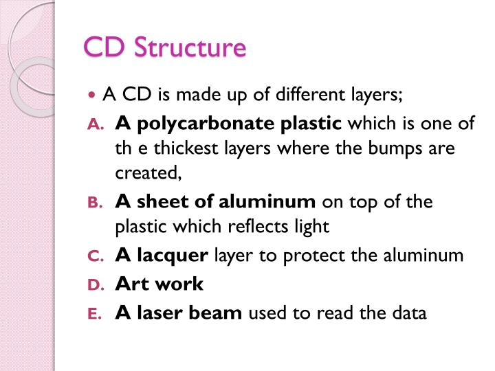 CD Structure