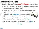 addition principle