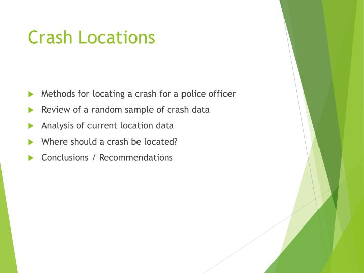 Crash Locations