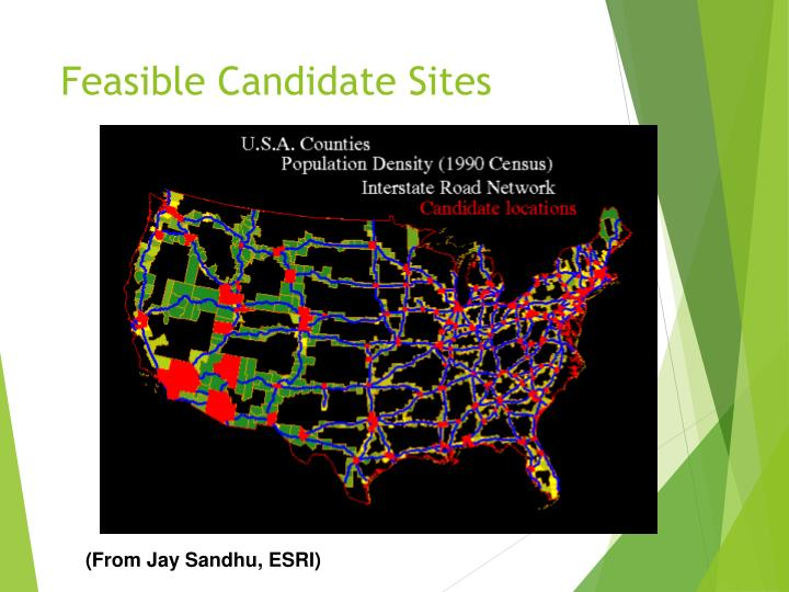 Feasible Candidate Sites