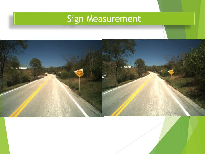 Sign Measurement