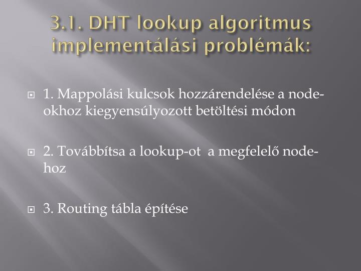 3.1. DHT