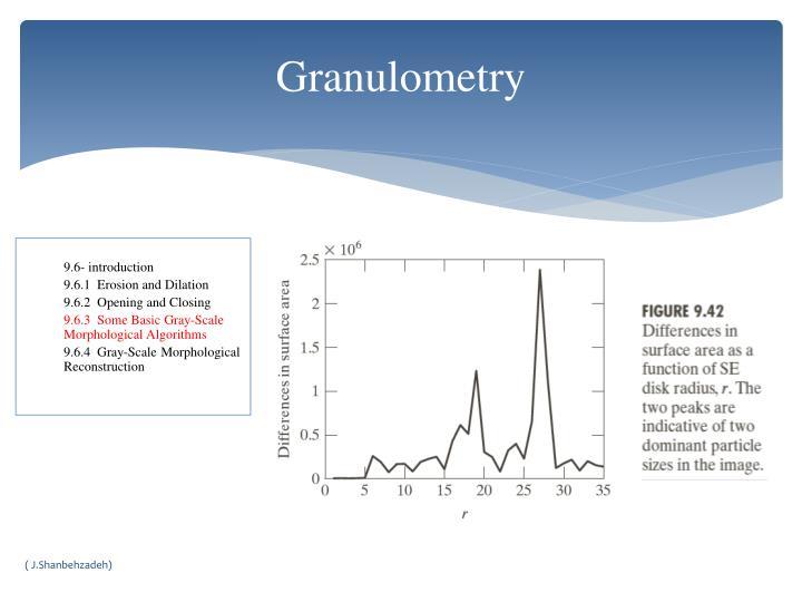 Granulometry