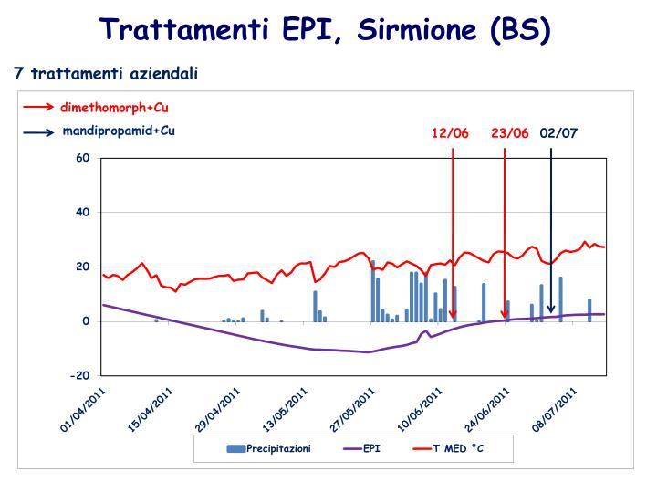 Trattamenti EPI, Sirmione (BS)