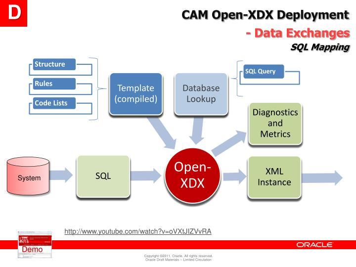 CAM Open-XDX Deployment
