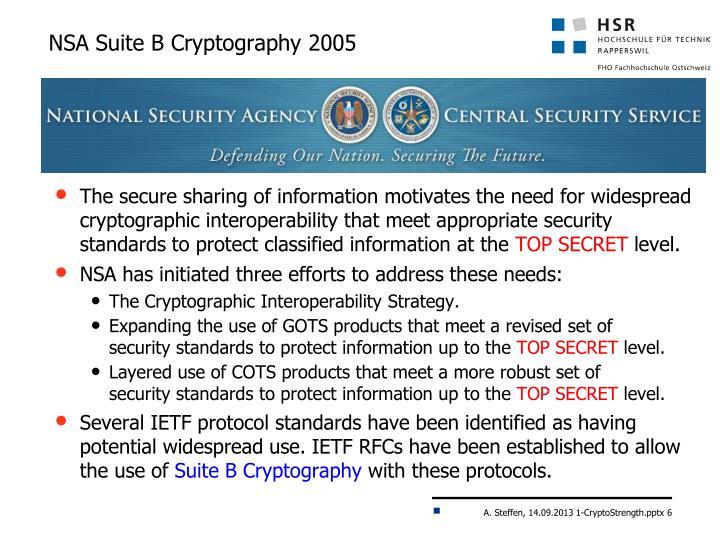 NSA Suite B