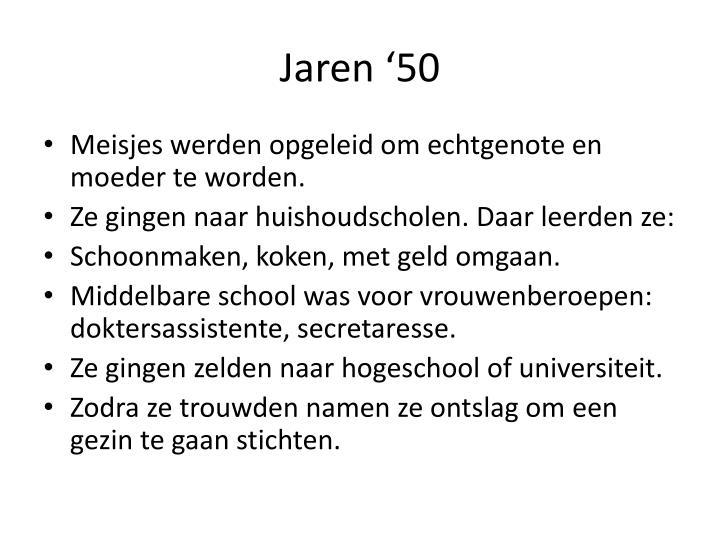 Jaren '50