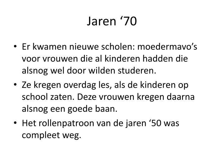 Jaren '70