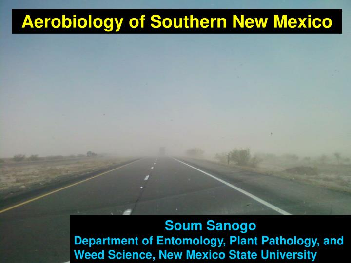 Aerobiology of Southern