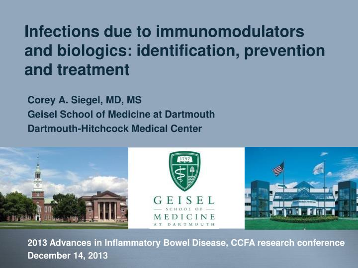 Infections due to immunomodulators and biologics identification prevention and treatment