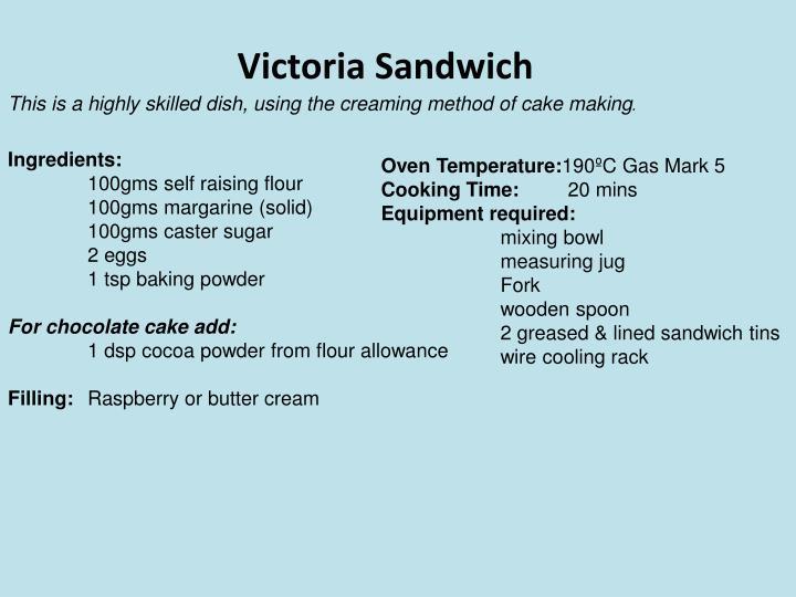 Victoria Sandwich