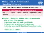 module n b0 75 implementation benefits and elements