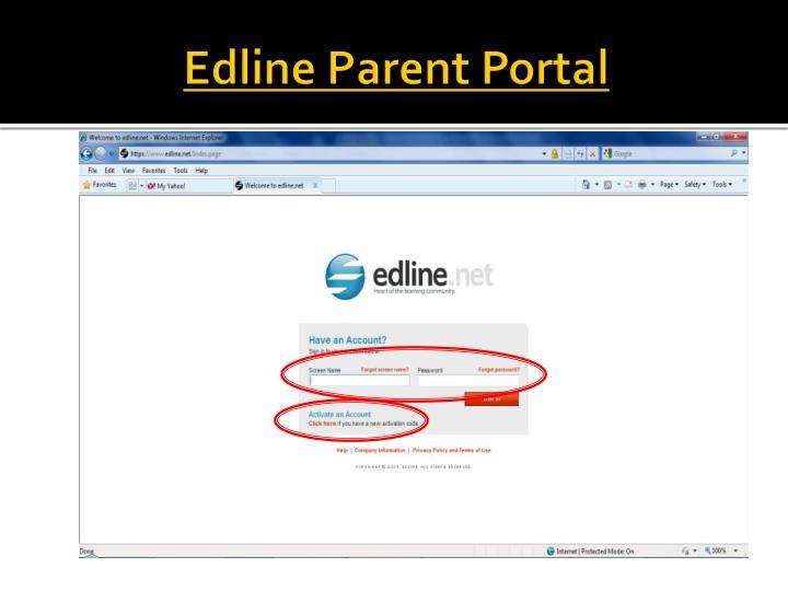 Edline Parent Portal