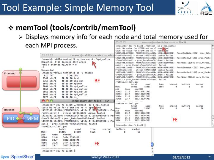 Tool Example: Simple