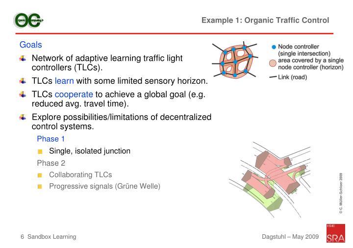 Example 1: Organic