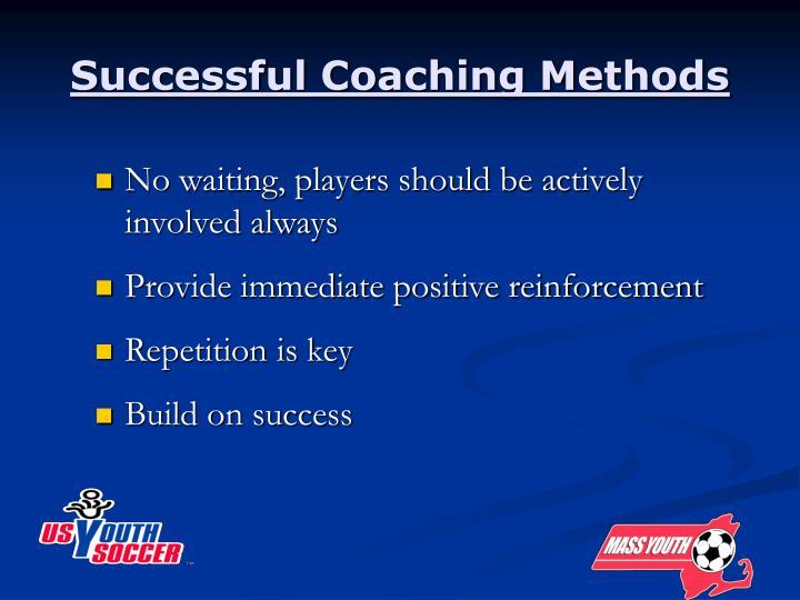 Successful Coaching Methods