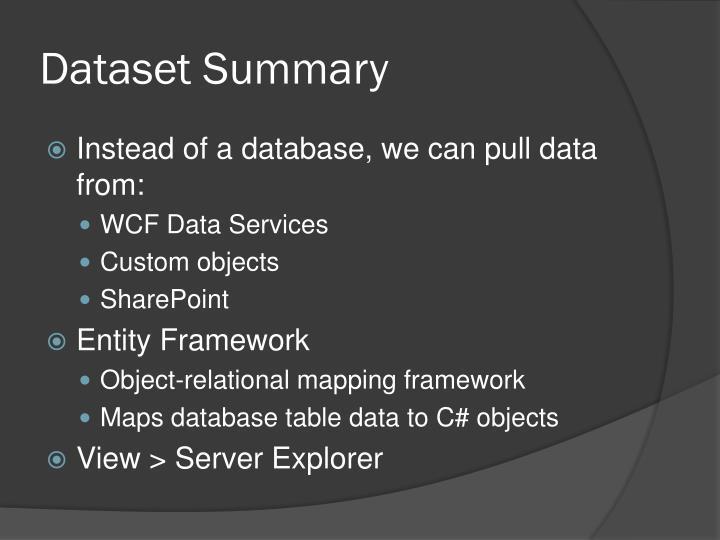 Dataset Summary