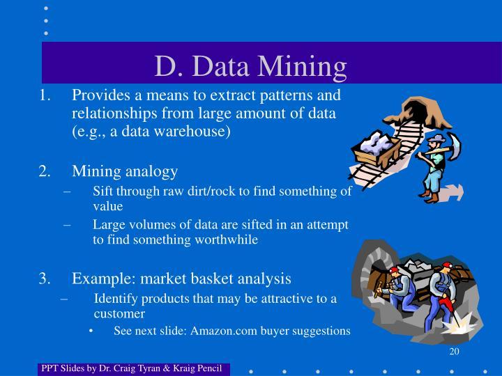 D. Data Mining