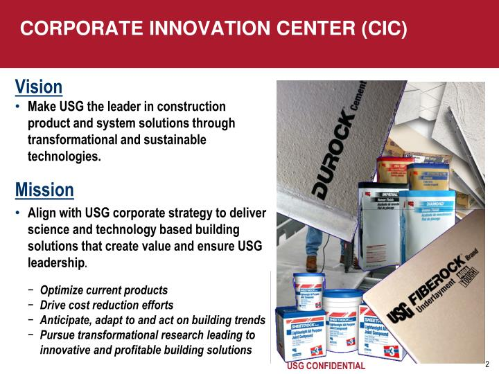 Corporate innovation center cic