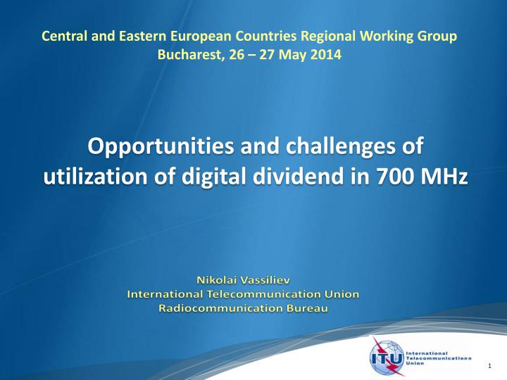 Central and Eastern European Countries Regional Working Group