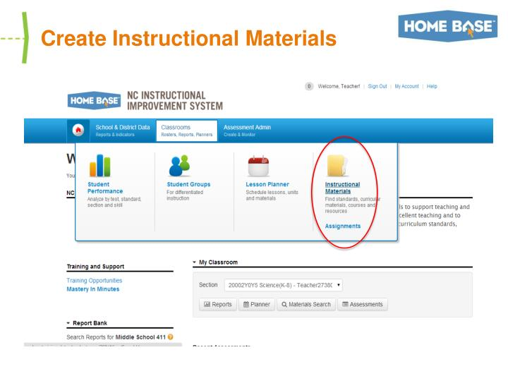 Create Instructional Materials