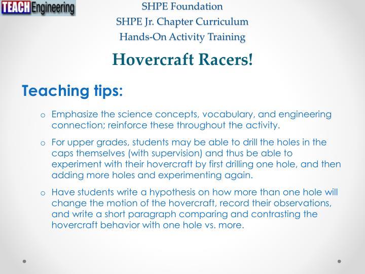 Hovercraft Racers!