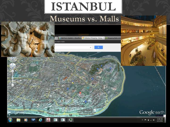 Museums vs. Malls