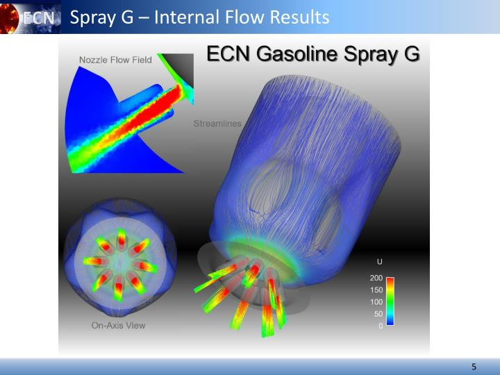 Spray G – Internal Flow