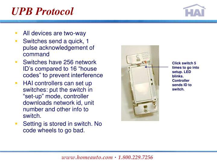 UPB Protocol