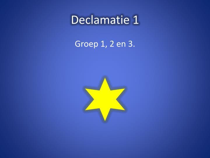 Declamatie 1
