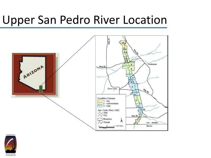 Upper San Pedro River Location