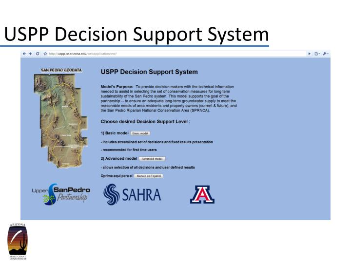 USPP Decision Support System