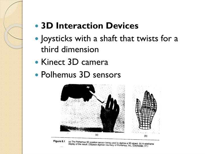 3D Interaction Devices