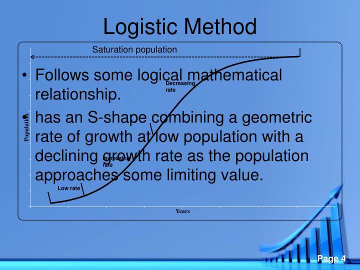 Logistic Method