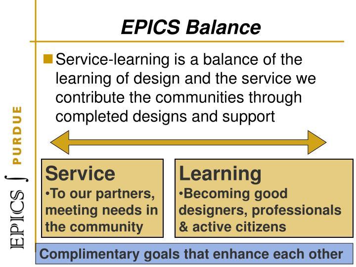 EPICS Balance