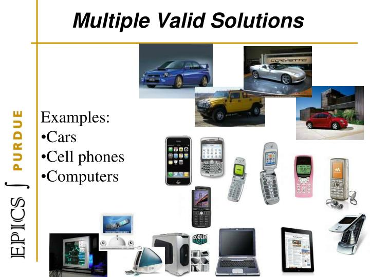 Multiple Valid Solutions