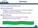 qa policy1