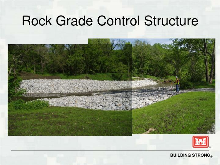 Rock Grade Control Structure