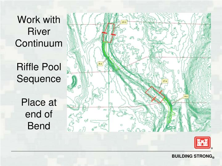 Work with River Continuum