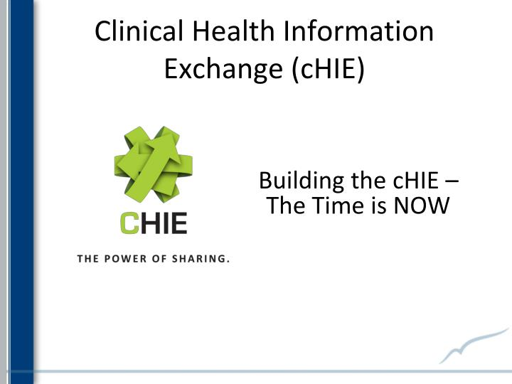 Clinical Health Information Exchange (