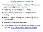 future support egad project