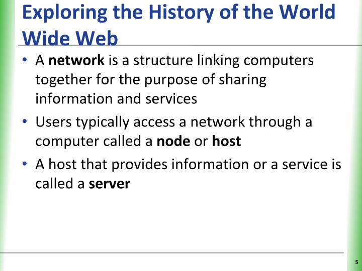 Exploring the History of the World Wide Web