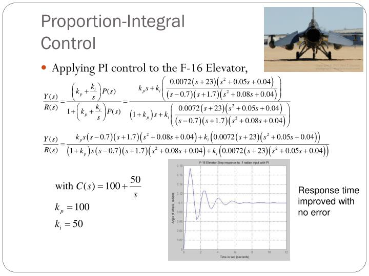 Proportion-Integral