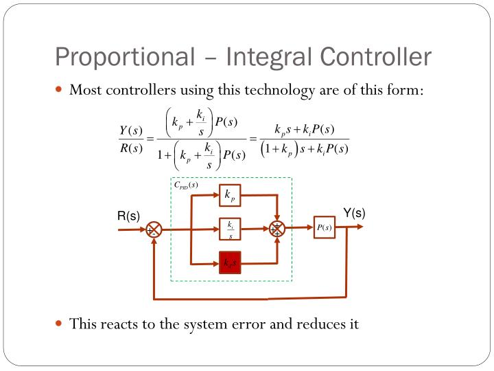Proportional – Integral Controller