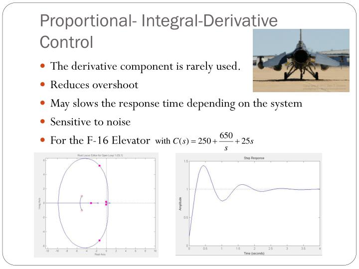 Proportional- Integral-Derivative