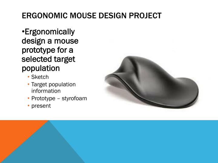 Ergonomic Mouse Design Project